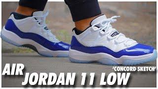 Air Jordan 11 Low Concord Sketch