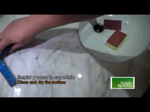 How To Remove Scratches Easily From Marble By Polishing   YouTube