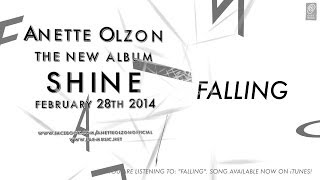 "Anette Olzon ""Falling"" Official Lyric Video - The new album ""SHINE"" OUT NOW!"