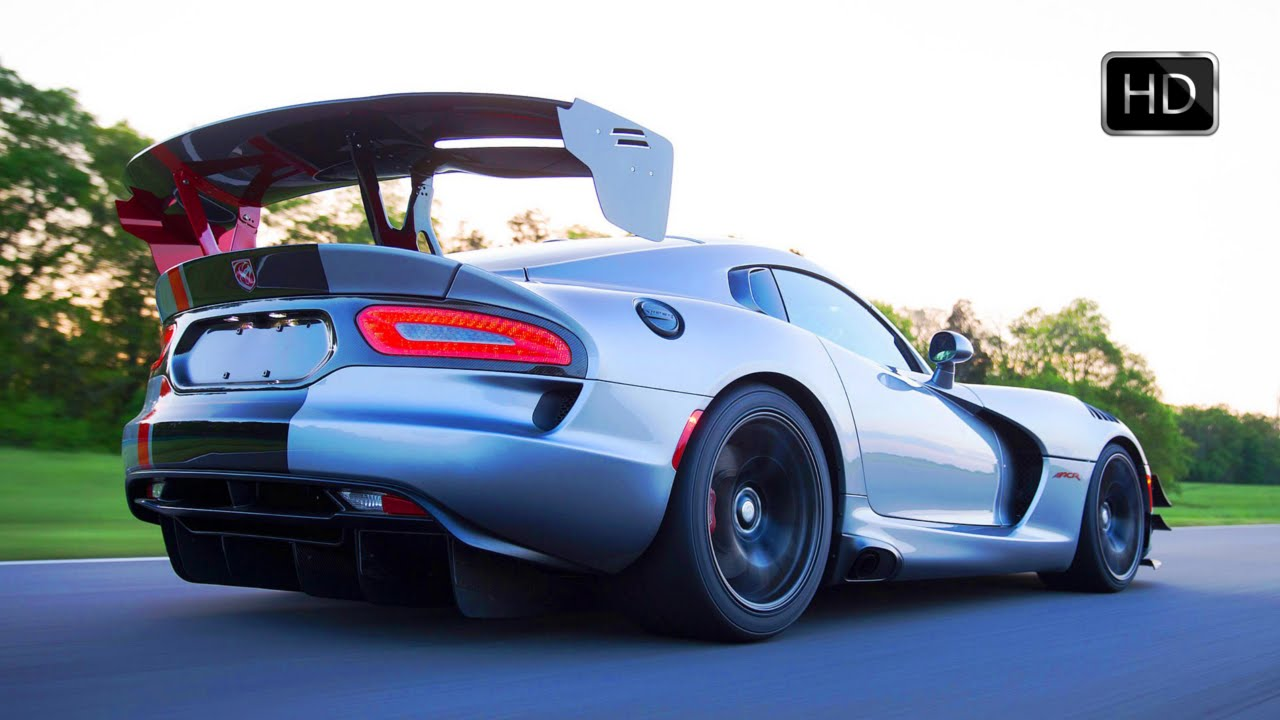 2016 Dodge Viper ACR 8.4L V10 Engine with 645 Horsepower ...