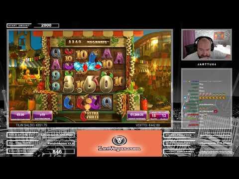 Big Win!! Really Nice Bonus From Extra Chilli Slot!!