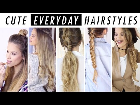 Everyday Hairstyle Ideas: 5 Days Of Hair & Outfit Inspo