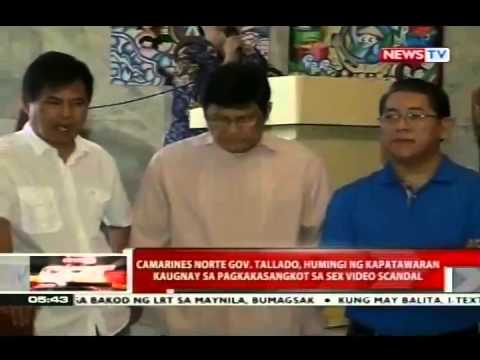 camarines norte governor sex scandal video in Cornwall