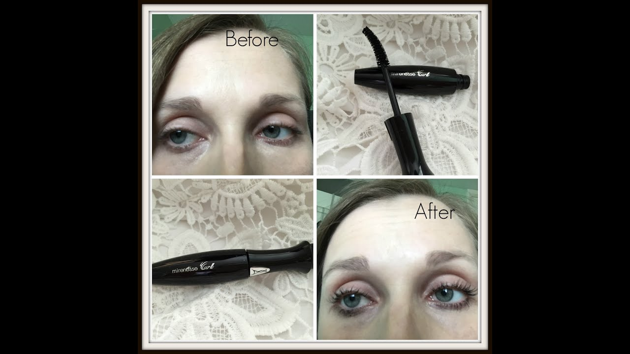Mirenesse Secret Weapon iCurl 24 Hour Mascara Review - YouTube