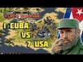 Red Alert 2 - Cuba's invasion to United States - 7 vs 1