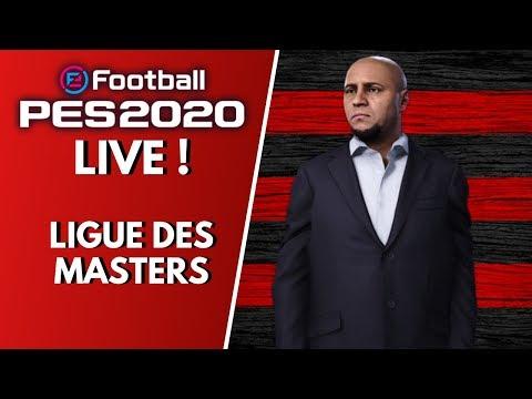 PES 2020 LIVE : Mes débuts en Ligue des Masters avec Roberto Larcos !