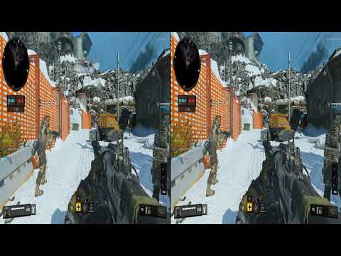 Call Of Duty Black Ops IV Beta VR PC to PlayStation VR Search & Destroy Heist Control Domination