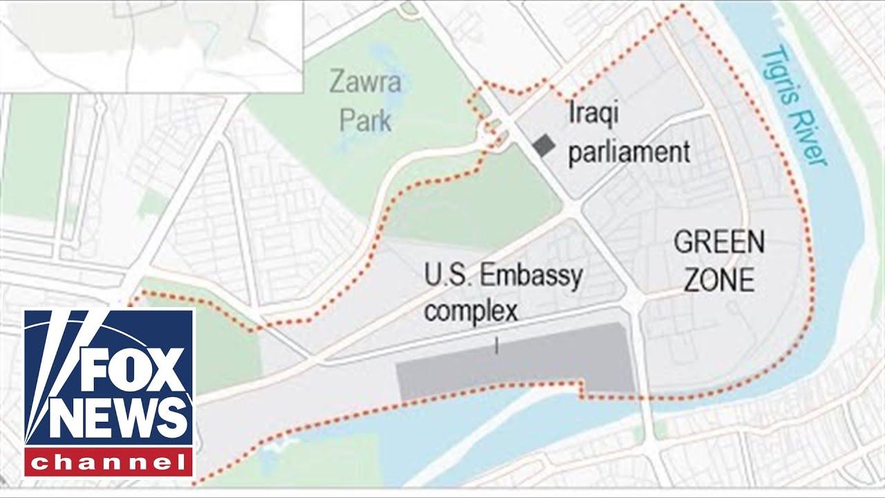 Two rockets hit Baghdad's Green Zone near US Embassy: Report -mFOX News