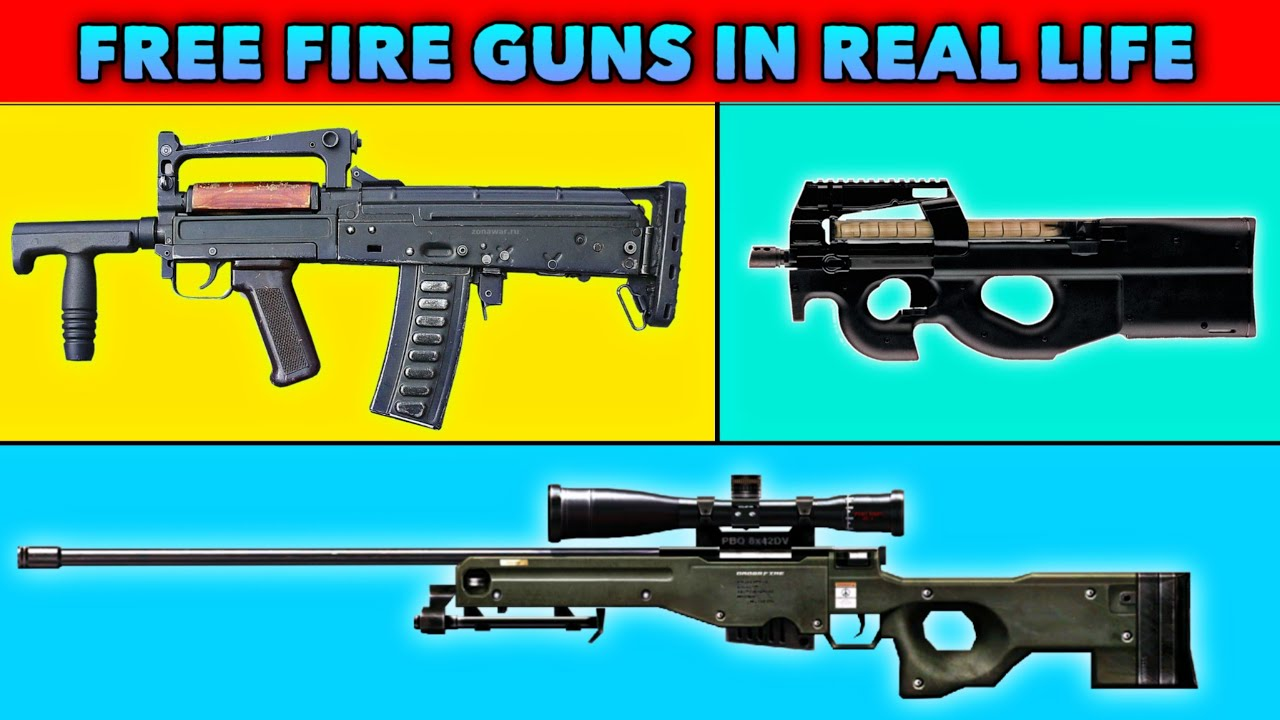 (Part - 7) Garena Free Fire All Guns 🔫 Real Life | Free Fire All Weapons in Real Life 2020