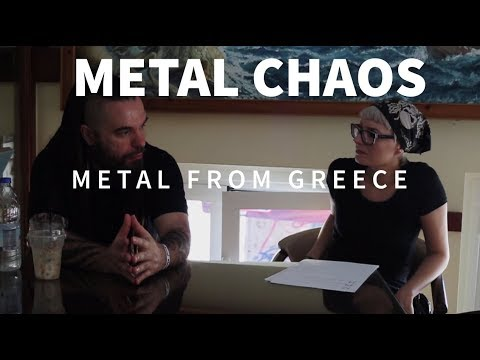 METALCHAOS Metal from Greece (chania rock festival, chaostar
