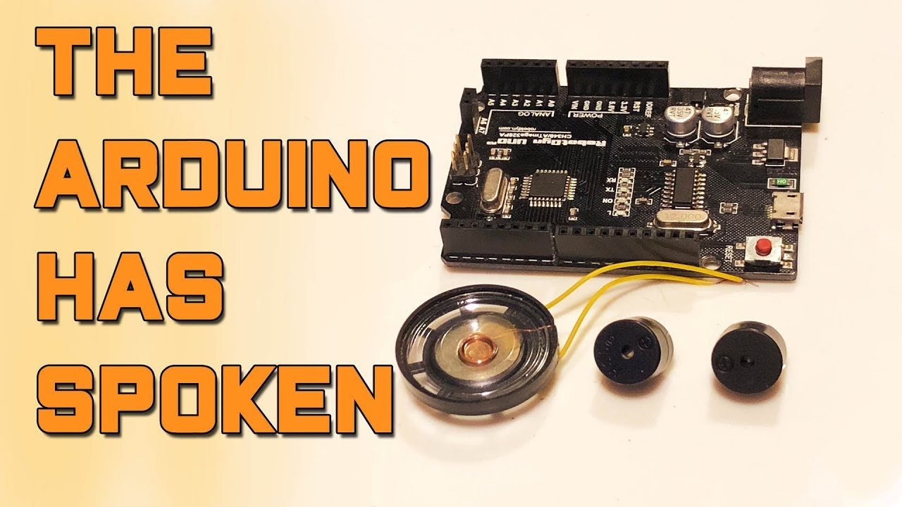 Play Sounds With Arduino || Passive vs  Active Speakers