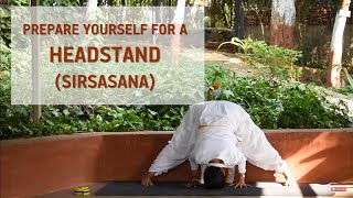 Prepare Yourself for a Headstand (Sirsasana) | Follow Along