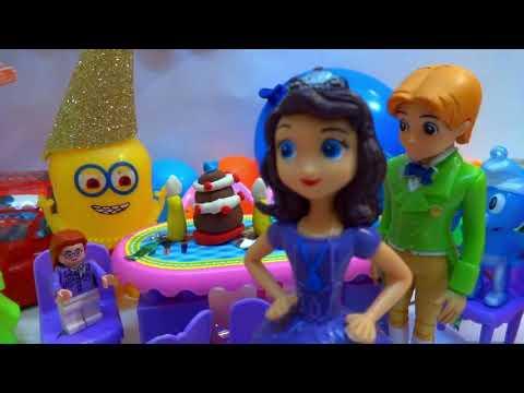 حلقة سنفور في عيد ميلاد التوأم ميمو وفلة حفلة جميلة للأطفال