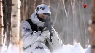 Спецназ ГРУ России в действии