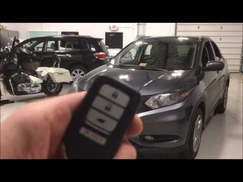 2016 Honda HRV Remote Start