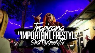 "Trapicana Freebands​ ""Important Freestyle"" Shot By @GeekdTV​"