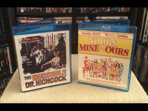 The Horrible Dr. Hichcock / Yours, Mine and Ours Blu Ray Unboxing & Review - Olive Films