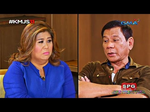 Kapuso Mo, Jessica Soho: Up close and personal with incoming President Rodrigo Duterte