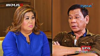 Download lagu Kapuso Mo, Jessica Soho: Up close and personal with incoming President Rodrigo Duterte