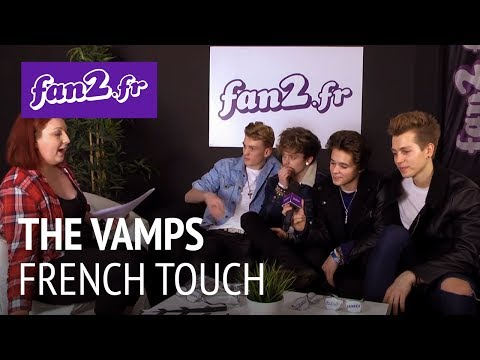 "The Vamps à Paris : Interview ""French Touch"""