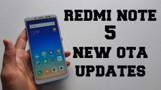 Xiaomi Redmi Note 5 Updates/New OTA/What is new/Fixed/Issues/Bugs/Improved/MIUI 9.5.17.0