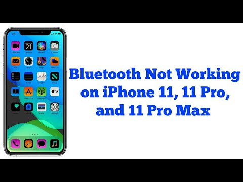 IPhone 11, 11 Pro, 11 Pro Max Bluetooth Not Working/Keeps Disconnecting (Fixed)