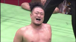 Pro Wrestling NOAH singles match - 2012.5.9 モハメド・ヨネVS秋山準 ...