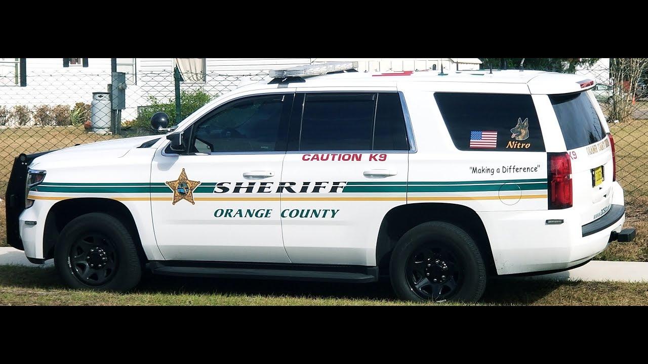 Orange county sheriff 39 s office fl on scene two k9 chevy - Orange county sheriffs office florida ...