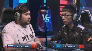 Cash (O) vs Colorful (NE) WarCraft Gold League Summer 2019 (Miker)