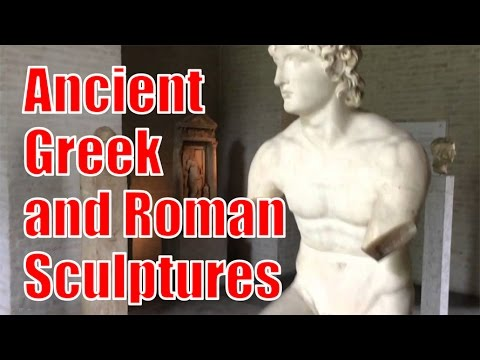 Ancient Greek Roman Statues Sculptures Tour at Glyptothek Mu
