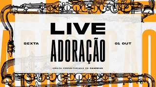 Live Louvor & Adoração | 01 de outubro de 2021
