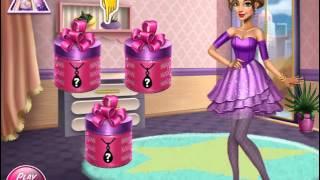 Мультик игра Одевалка: Гламурная девушка (Tris Homecoming Dolly Dress Up)