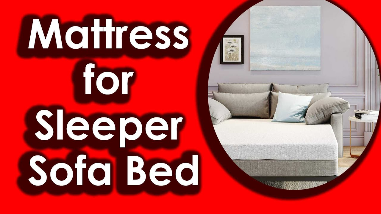 Classic Brands Memory Foam Replacement Mattress For Sleeper Sofa Bed