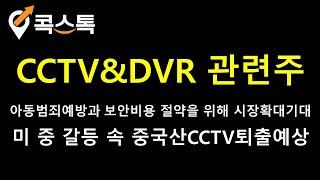 [주식][특징주][CCTV&DVR관련주]테라셈,…