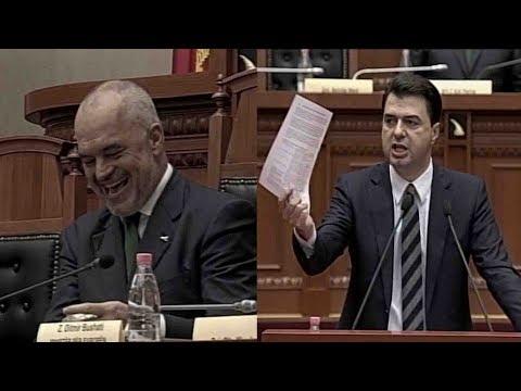 Rama: Jap dorëheqjen për 400 milion Euro, Basha bën llogarite live: Qenkan 350 milion