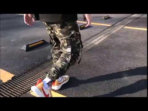 Men's Camouflage Multi Pockets Pants