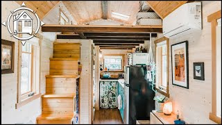 Couple Builds Gorgeous Tiny House To Escape High Rent