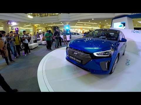 2016 Hyundai Ioniq Hybrid Full Inside Out Walk Around Review In Malaysia