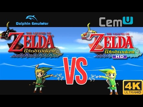 Dolphin VS Cemu   Zelda Wind Waker 10k Maxed Out!