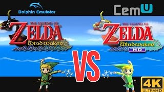 Dolphin VS Cemu | Zelda Wind Waker 10k Maxed Out!