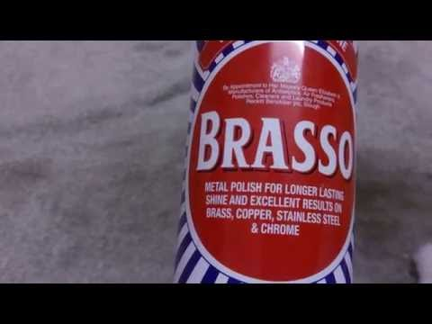 Brasso Cleaning Test