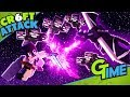 Download HEFTIGER KAMPF GEGEN DEN ENDERDRACHEN UND VIER WITHER! - MINECRAFT CRAFT ATTACK 6 #34 | GAMERSTIME