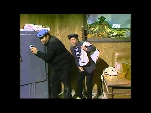 El chompiras y el Botija - La caja fuerte- Chespirito HD