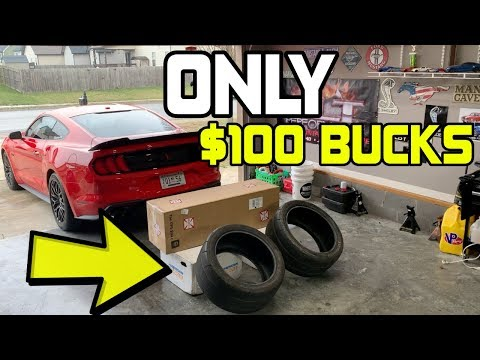 NITTO NTOR Drag Racing Tires for ONLY $ | Making my  Mustang GT FASTER | EP.