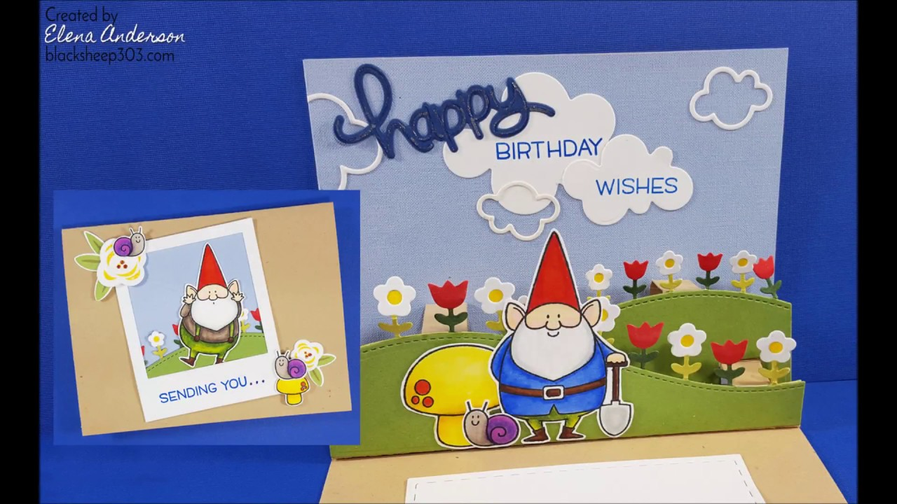Pop up gnome birthday card with lawn fawn my favorite things pop up gnome birthday card with lawn fawn my favorite things bookmarktalkfo Image collections