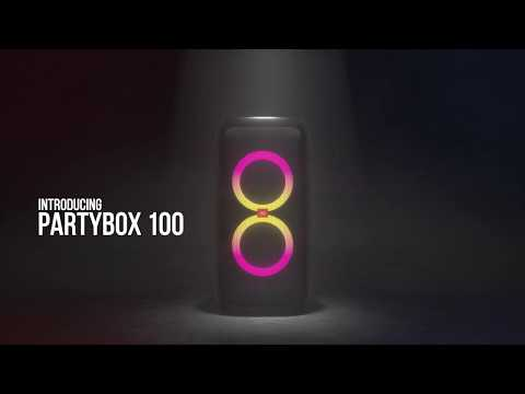 JBL PartyBox 100 | Be Loud, Be Proud, Be Ready To Party!