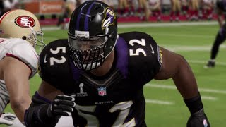 Madden 13 Superbowl : Ravens vs 49ers w/FaceCam - The Harbowl