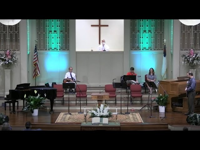 July 26, 2020 Service at First Baptist Thomson [Trimmed], Streaming License 201531172