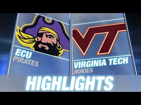 ECU vs Virginia Tech   2014 ACC Football...