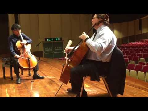Cello master class by Jeffrey Lastrapes